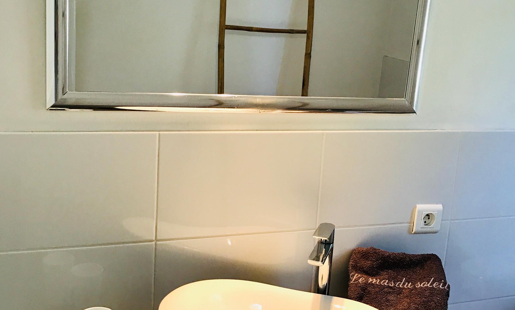 Appartement 2 chambres Olivier salle de bain