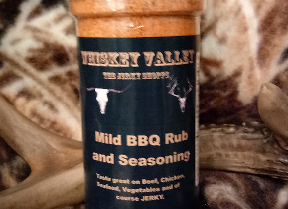 Whiskey Valley Mild BBQ Rub and Seasoning