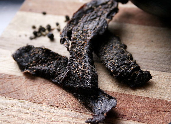 Whiskey Valley Peppered Beef Jerky