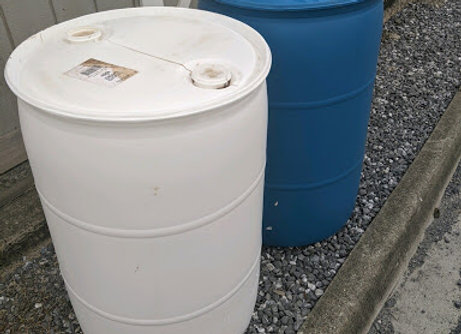 55 gallon food grade plastic barrel