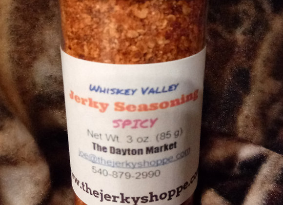 Whiskey Valley Jerky Seasoning Spicy