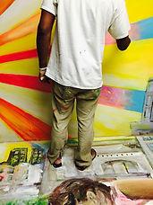 phill ferguson chicago live event painter