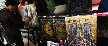 phill ferguson chicago live event painter of pferg paint