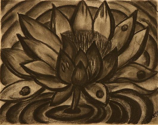 Charcoal Lotus