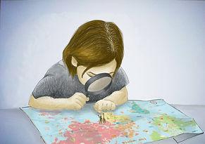 illustration opex enfant carte