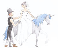 mariage fées licorne