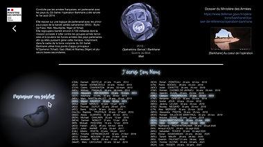 Projet J'écris Ton Nom webpage 2