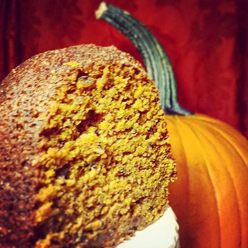Spiced Bundt Pumpkin Bread