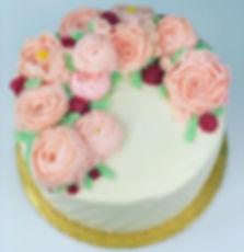 Babyshower Strawberry Cake #swissmeringu
