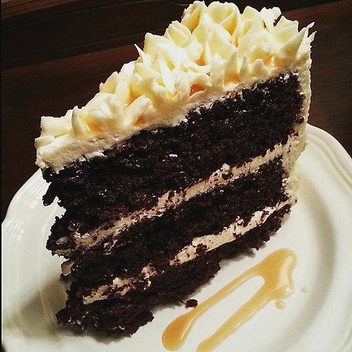 Fleur de Sel Caramel Chocolate Cake