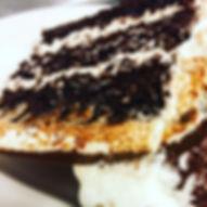 Slice of Tuxedo Cake or new name per cus
