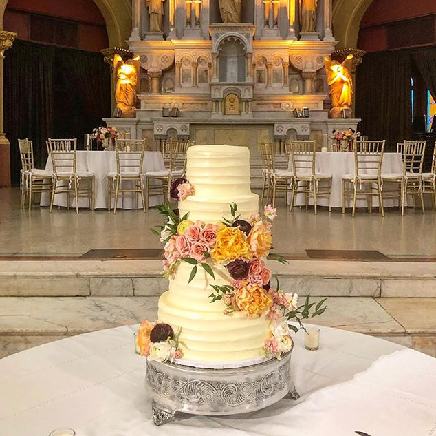 Wedding Cake _sacredheartaugusta Congrat