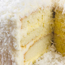 Coconut Cream Cake #sumtemptsbakery #pas