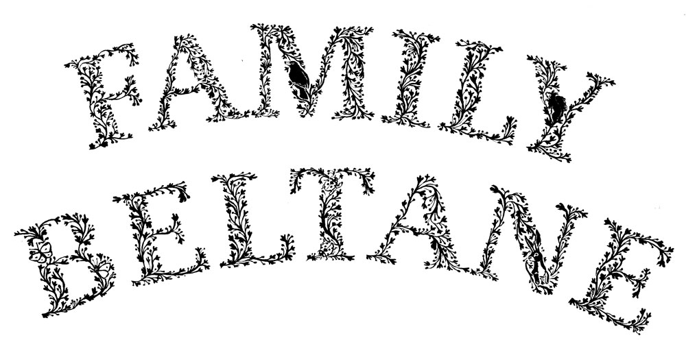 Family Beltane Typography