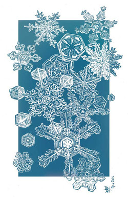 snowflakes mini comic
