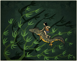 Salamander steed