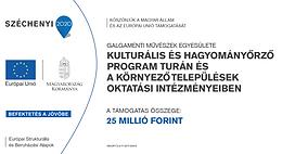 """""""A Galgamenti Művészek Egyesületének kulturális és hagyományőrző programja Turán és a környező települések oktatási intézményeiben"""" (sajtóközlemény)"""