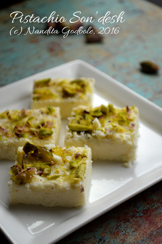 Recipe: Pistachio Son'desh