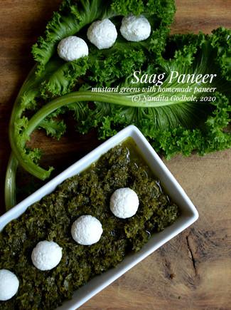 Recipes: Palak Paneer, Sarsoon-ka-Saag & Nadair Palak Paneer