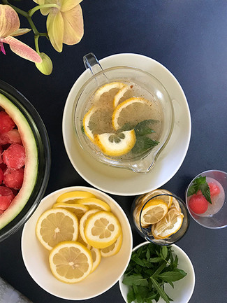 Recipe: Spiced Lemonade with Watermelon