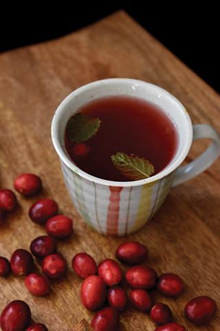Cranberry Cherry Tea`