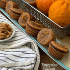 Recipe: Tangerine Walnut Mini-Muffins
