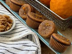 Recipe: Tangerine Walnut Mini-Muffins