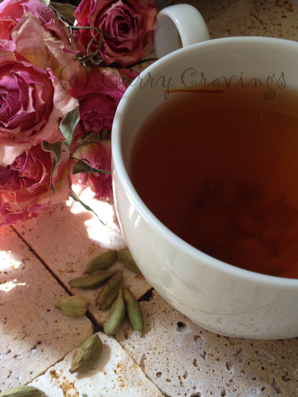 Kahwa: Kashmiri Green Tea, (c) Nandita Godbole, 2013