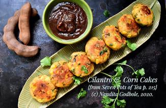Recipe: Cilantro & Corn Cakes