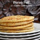Recipe: Puran Poli