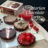 Recipes: TWO Easiest Vegetarian Tarts: Chocolate Chestnut & Chocolate Raspberry