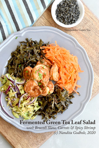 Recipe: Fermented Green Tea Leaf Salad