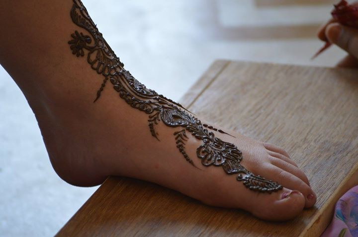 Mehendi, Jaipur (not my feet)