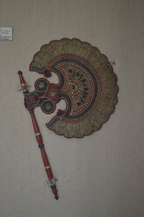 Beautiful vintage hand held fan, Jaipur