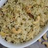 Recipe: Lemon Rice with Peas & Cashews