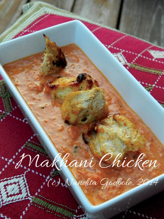 Recipe: Makhani Chicken