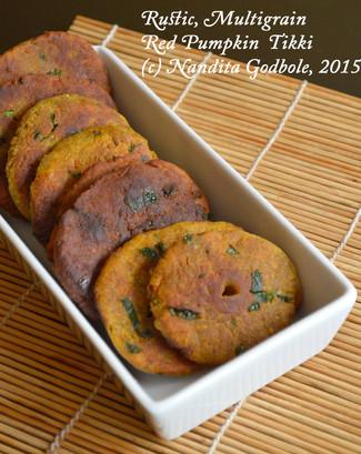 Recipe: Rustic, Multigrain Red Pumpkin Tikki