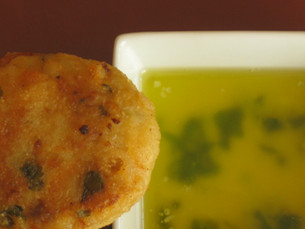 Recipe: Griddle Fried Fish Cakes With Herb Butter