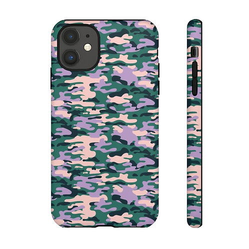 Camouflage Ori. Lavender Designer Tough Case