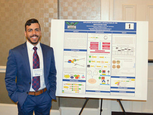 NSU senior presents cancer research at state capitol