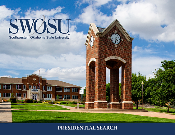 SWOSU Presidential Search Cover Page Ima