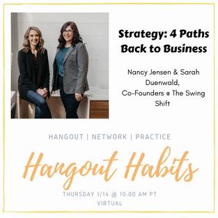 #HangoutHabits_ 4 Paths Back_ How Creati