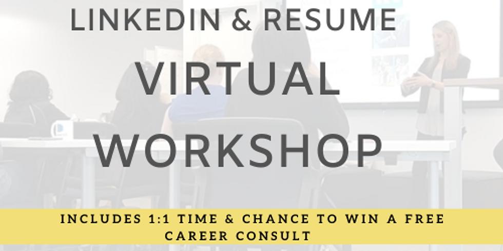 LinkedIn & Resume Workshop