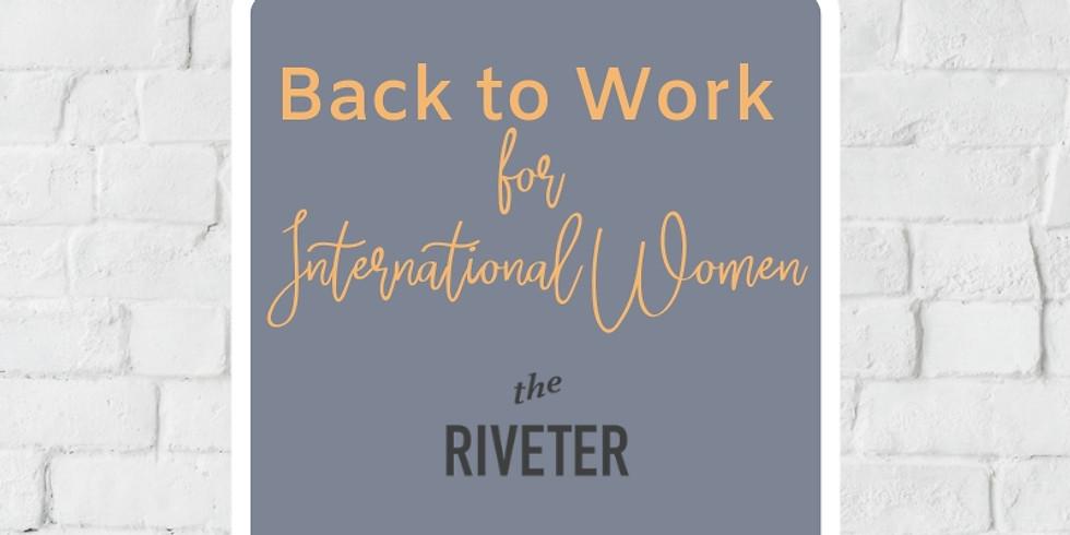 Back to Work: For International Women