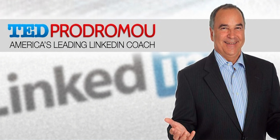 Instagram Live with Ted Prodromou, America's Leading LinkedIn Coach