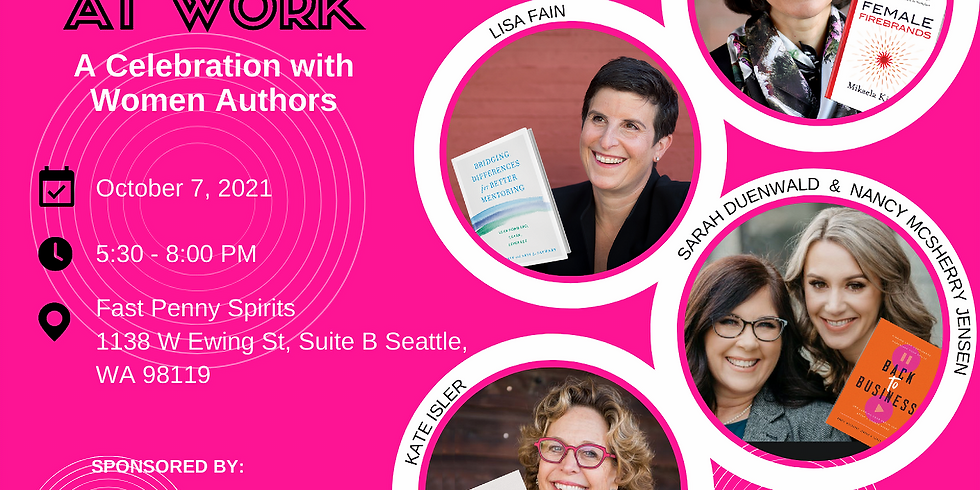 Future of Women @ Work, A Celebration of Women Authors