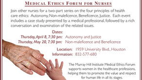 Medical Ethics Forum for Nurses