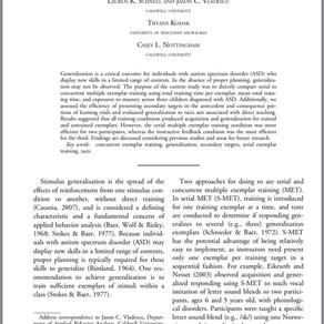 Lab publication
