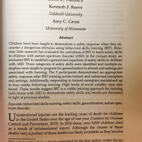 Congrats Maggie on her publication!