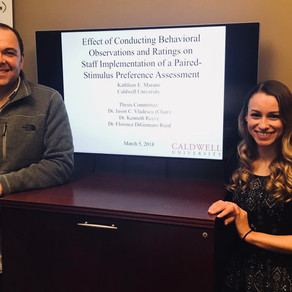 Congrats to Katie for defending her thesis!